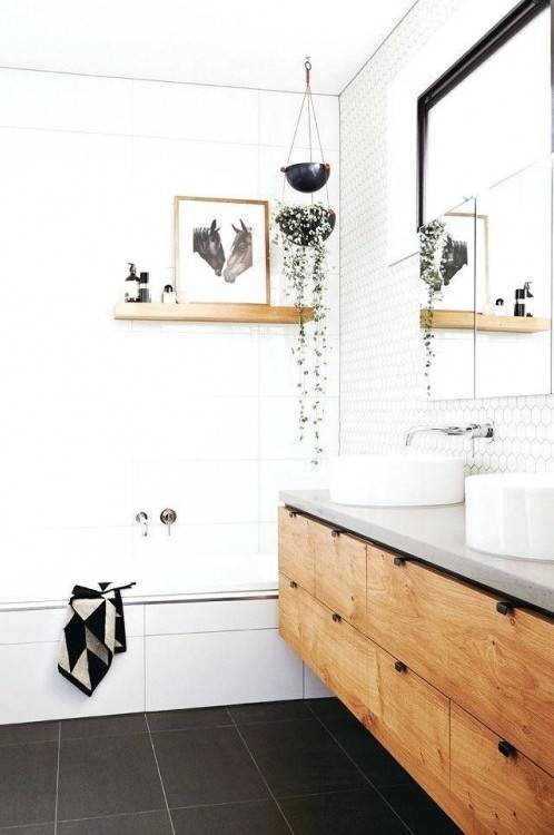 Such kind of color will work well with any color combination that you  prefer for your bathroom