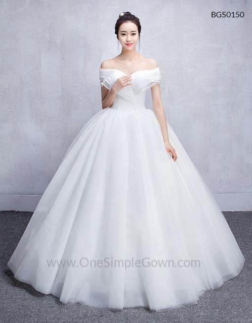 Discount Vintage Style High Low Wedding Dresses Off Shoulder Half Sleeve Flower Belt Lace Organza Short Frong Long Back Bridal Gowns Custom W686 Dresses