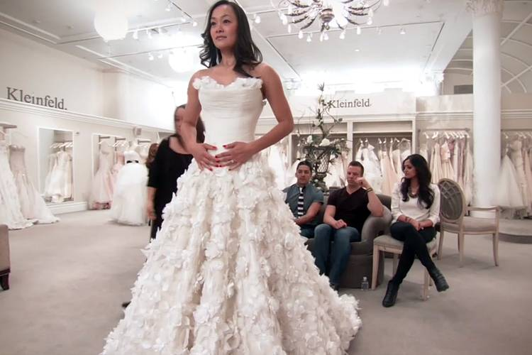 Even though wedding dresses are so personal and we'll all have different tastes and styles, this particular dress seems to be a hit with most potential