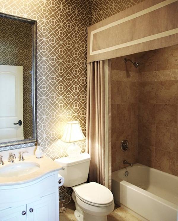 Simply put, shower curtains can instantly inject a blast of color, print  and personality with the minimum of fuss, expense and effort