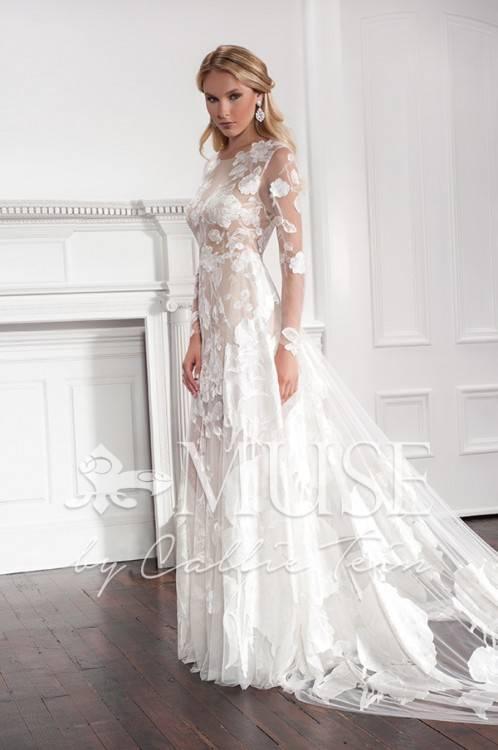 Bride near house in Russian style