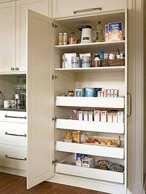 (traditional kitchen by Marie Newton, Closets Redefined)